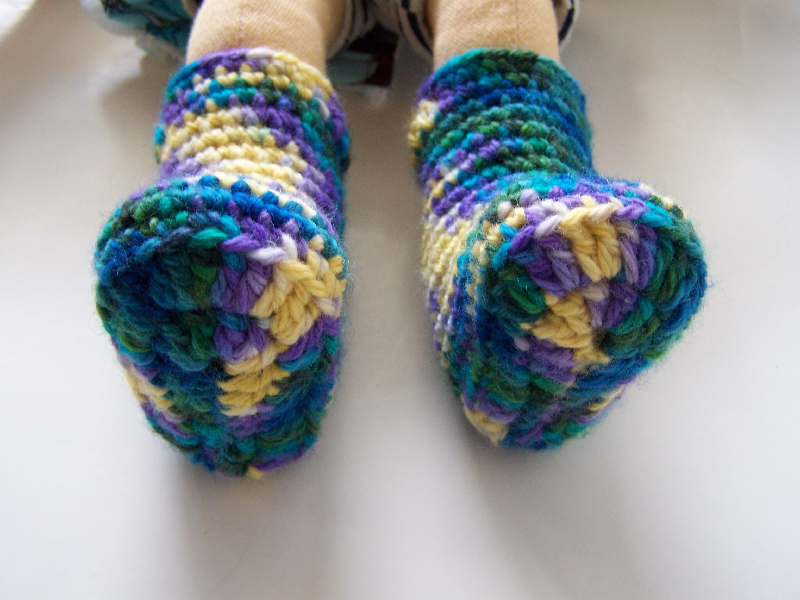 Crochet Dolly Shoes
