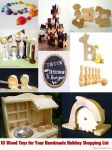 Handmade Christmas Wood Toy Gift Guide